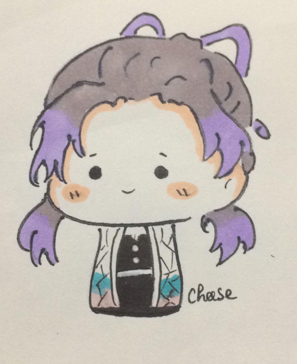 vẽ shinobu kochou chibi có chữ kí nhá câu hỏi 1007726 - hoidap247.com